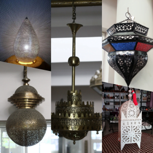 Iron & Brassware Moroccan lighting