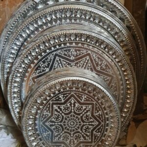 moroccan trays tables